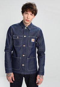 Carhartt WIP - MICHIGAN CHORE NORCO - Denim jacket - blue rigid - 0