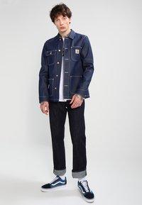 Carhartt WIP - MICHIGAN CHORE NORCO - Denim jacket - blue rigid - 1