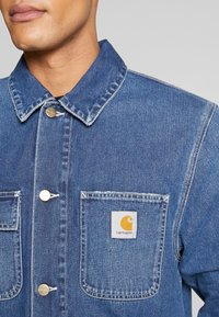 Carhartt WIP - MICHIGAN CHORE NORCO - Jeansjacka - blue mid worn wash - 5