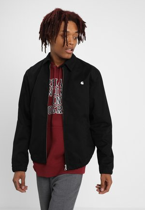 MADISON JACKET BENSON - Summer jacket - black/white rigid