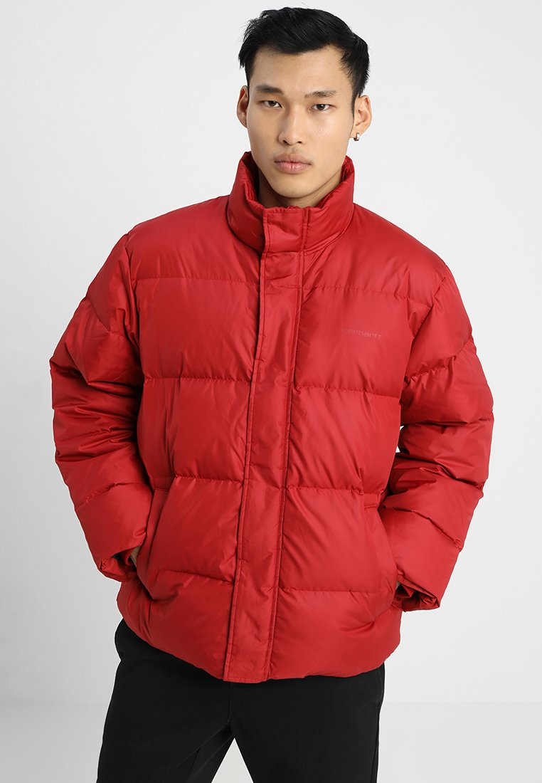 Carhartt WIP - DEMING JACKET - Piumino - blast red