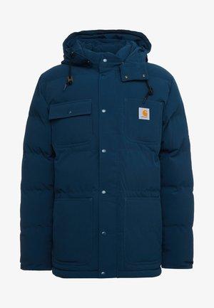 ALPINE COAT - Vinterjakker - duck blue/black