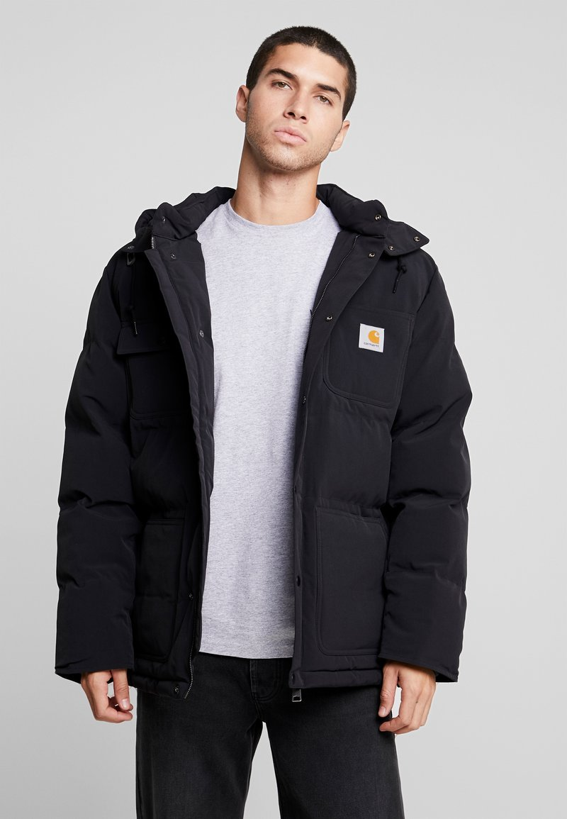 Carhartt WIP - ALPINE COAT - Winterjas - black / hamilton brown