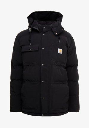 ALPINE COAT - Giacca invernale - black / hamilton brown