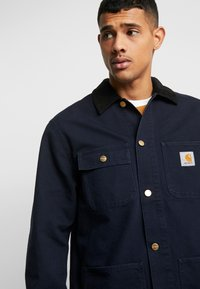 Carhartt WIP - MICHIGAN COAT DEARBORN - Tunn jacka - dark navy rinsed - 3