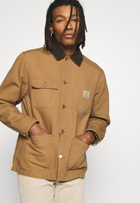 Carhartt WIP - MICHIGAN COAT DEARBORN - Tunn jacka - hamilton brown rinsed - 3