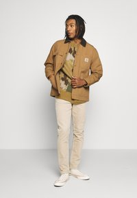 Carhartt WIP - MICHIGAN COAT DEARBORN - Tunn jacka - hamilton brown rinsed - 1