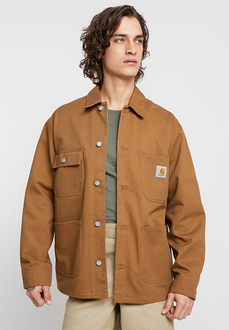 Carhartt WIP - CHORE COAT JASPER - Leichte Jacke - brown
