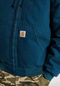 Carhartt WIP - ACTIVE JACKET DEARBORN - Lehká bunda - duck blue aged - 5