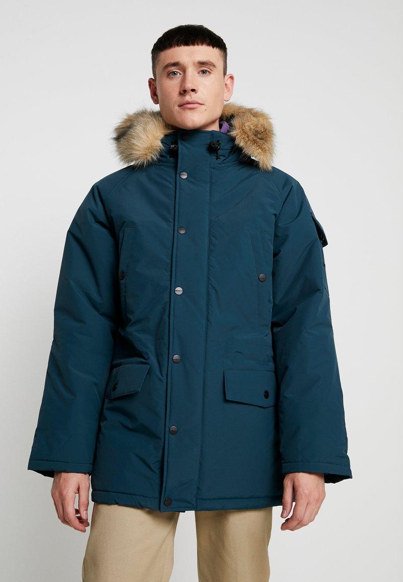 Carhartt WIP - ANCHORAGE - Winter jacket - duck blue