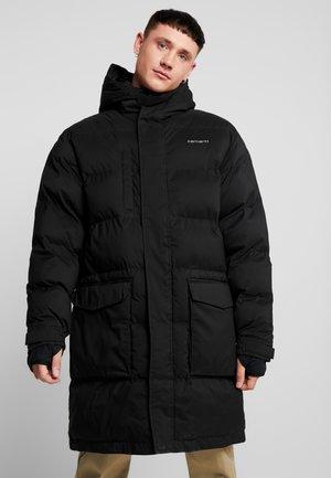WEBER COAT - Zimní kabát - black