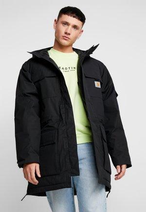 HENDON  - Zimní kabát - black