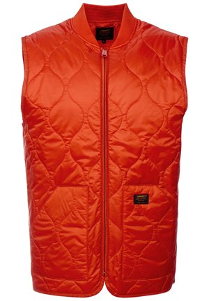 VOLTA VEST LINER - Väst - brick orange