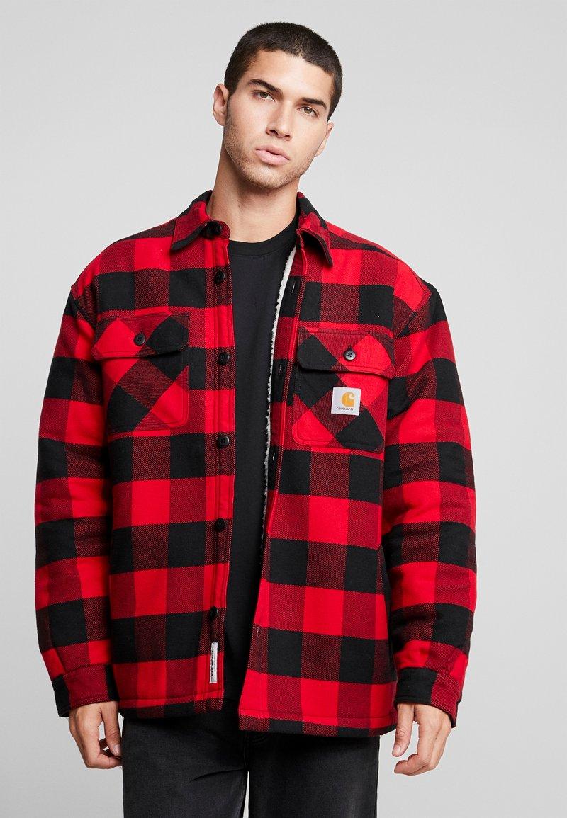 Carhartt WIP - MERTON SHIRT  - Light jacket - cardinal