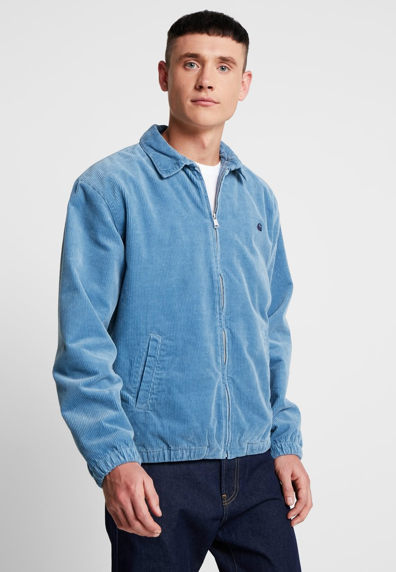 Carhartt WIP - MADISON JACKET - Lehká bunda - cold blue/dark navy rinsed