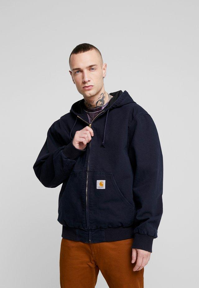 ACTIVE JACKET DEARBORN - Summer jacket - dark navy rinsed