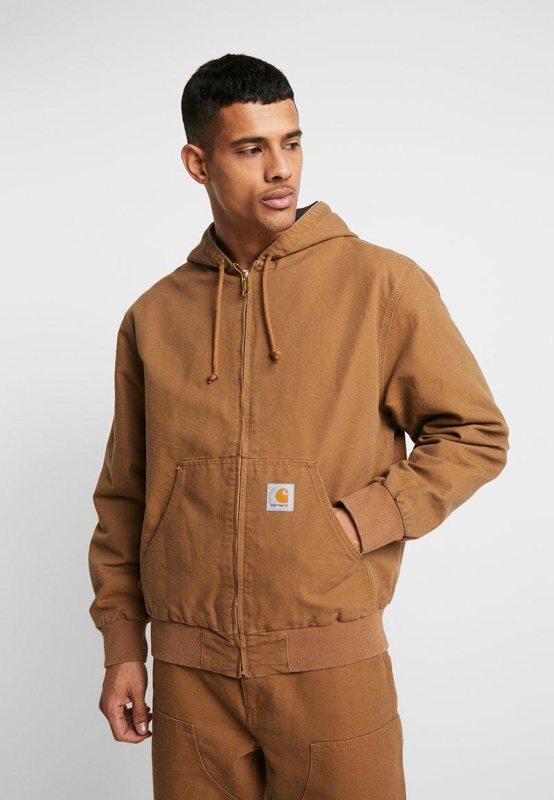 Carhartt WIP - ACTIVE JACKET DEARBORN - Summer jacket - hamilton brown