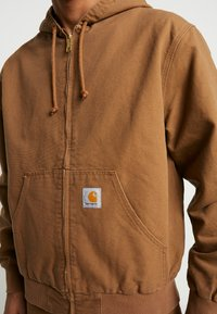 Carhartt WIP - ACTIVE JACKET DEARBORN - Summer jacket - hamilton brown - 5