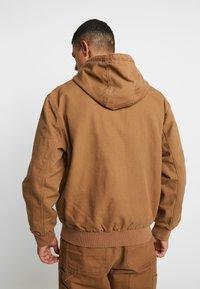Carhartt WIP - ACTIVE JACKET DEARBORN - Summer jacket - hamilton brown - 2
