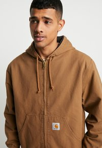 Carhartt WIP - ACTIVE JACKET DEARBORN - Summer jacket - hamilton brown - 3