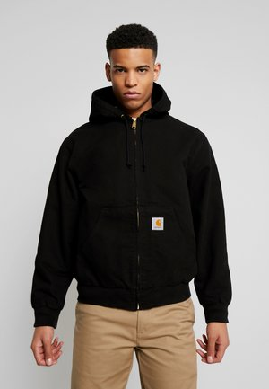 ACTIVE JACKET DEARBORN - Giacca leggera - black rinsed
