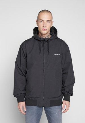 MARSH - Lehká bunda - black/white
