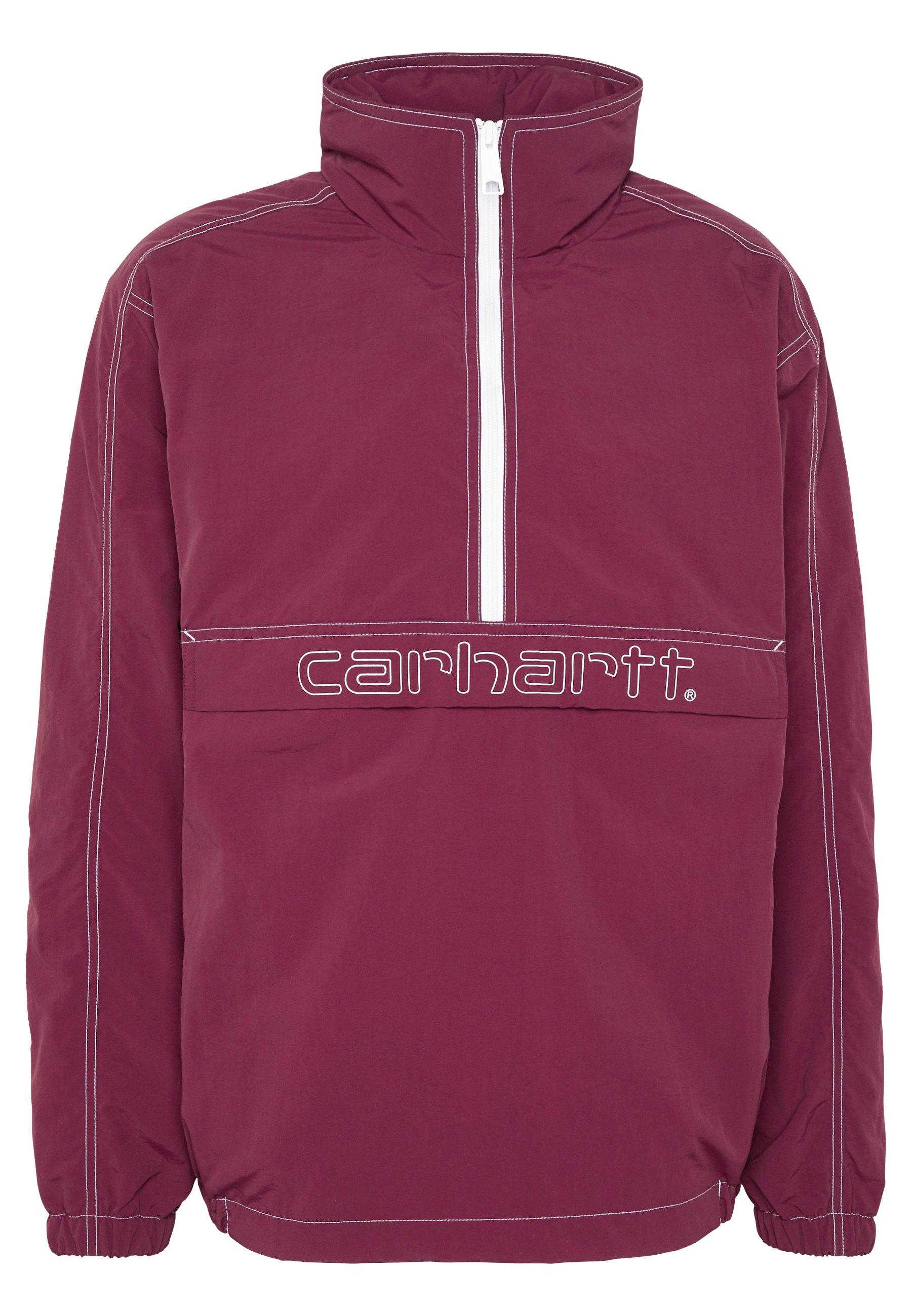 Carhartt Wip Kastor - Windbreaker Shiraz/white