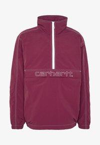 Carhartt WIP - KASTOR - Vindjacka - shiraz/white - 6