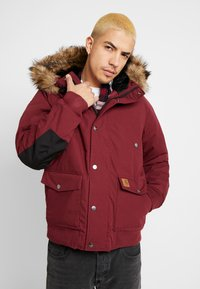 Carhartt WIP - TRAPPER JACKET - Parka - mulberry/black - 0