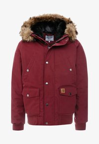 Carhartt WIP - TRAPPER JACKET - Parka - mulberry/black - 6