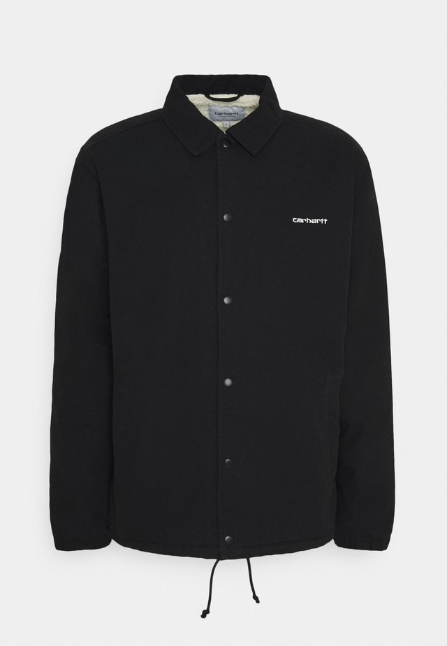 COACH JACKET - Jas - black/white