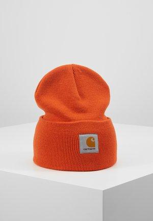WATCH HAT - Mössa - brick orange