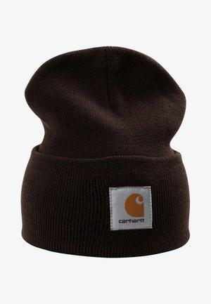 WATCH HAT - Bonnet - tobacco