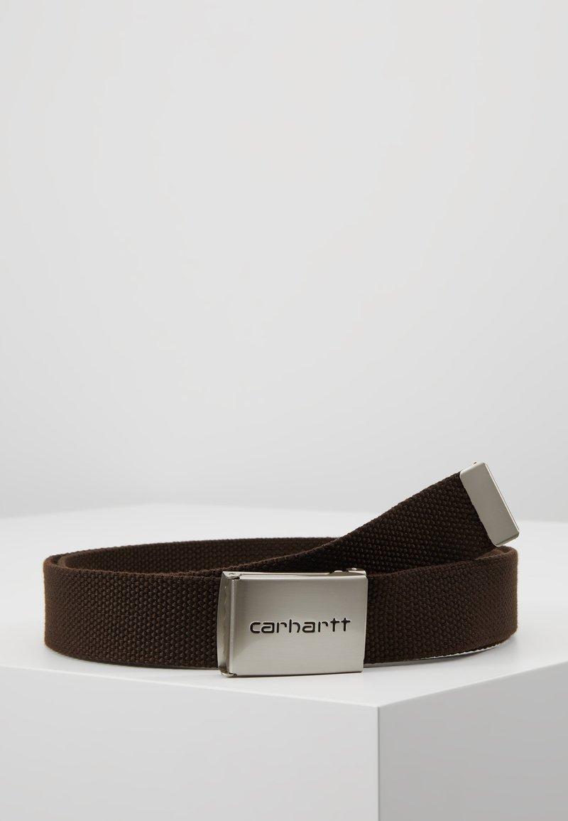 Carhartt WIP - CLIP BELT - Skärp - dark brown