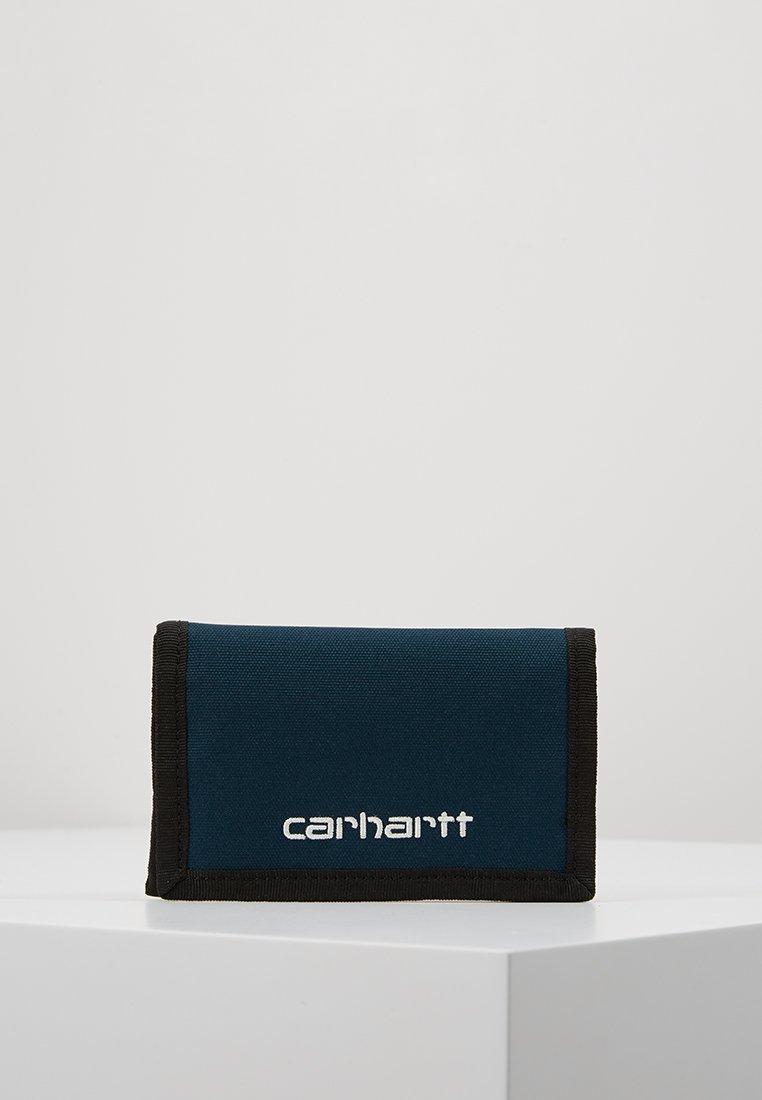 Carhartt WIP - PAYTON WALLET - Geldbörse - duck blue/white