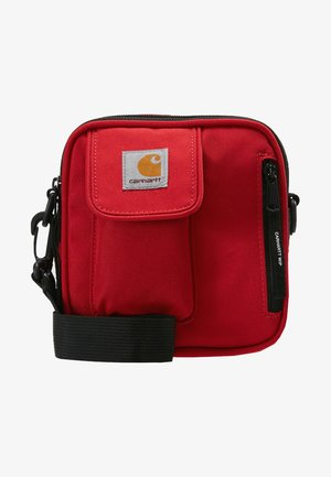 ESSENTIALS BAG SMALL - Bandolera - cardinal