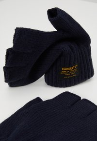 Carhartt WIP - MILITARY MITTEN - Fingerless gloves - dark navy - 3