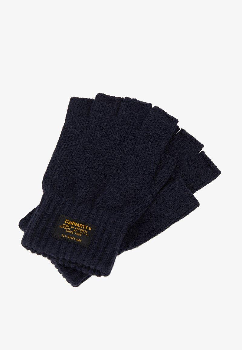 Carhartt WIP - MILITARY MITTEN - Fingerless gloves - dark navy