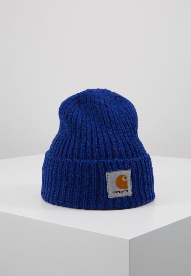 ANGLISTIC BEANIE  - Mössa - thunder blue heather