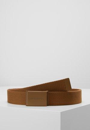 CLIP - Ceinture - hamilton brown