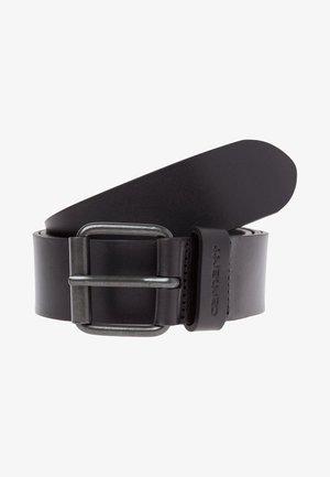 SCRIPT BELT  - Cinturón - black/black