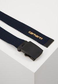 Carhartt WIP - ORBIT BELT - Belt - dark navy/pop orange - 4