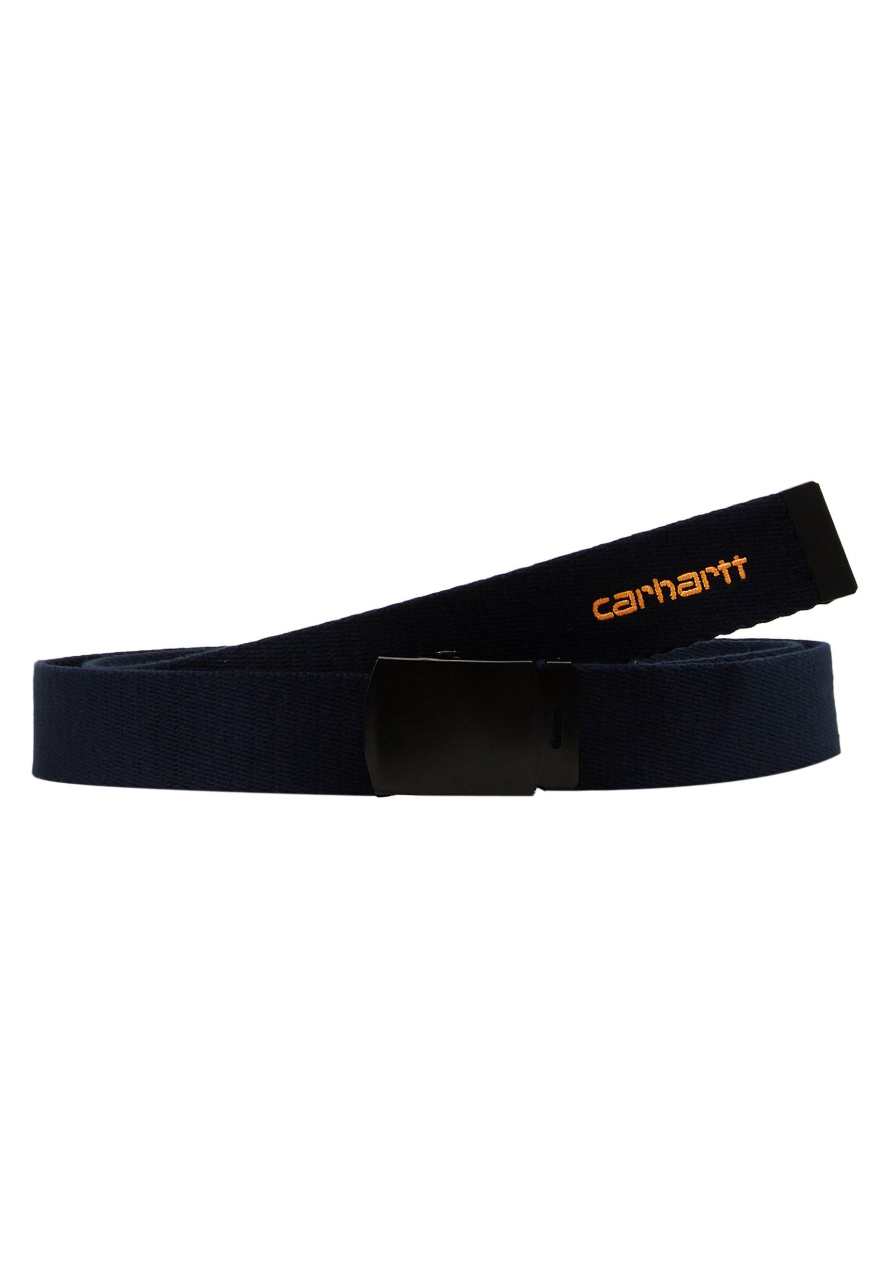 Carhartt WIP ORBIT BELT - Belte - dark navy/pop orange