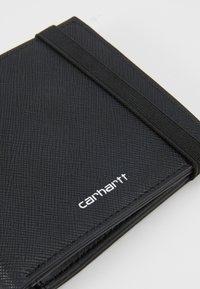 Carhartt WIP - COATED BILLFOLD WALLET - Wallet - black - 2
