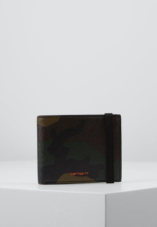 COATED BILLFOLD WALLET - Peněženka - laurel/orange