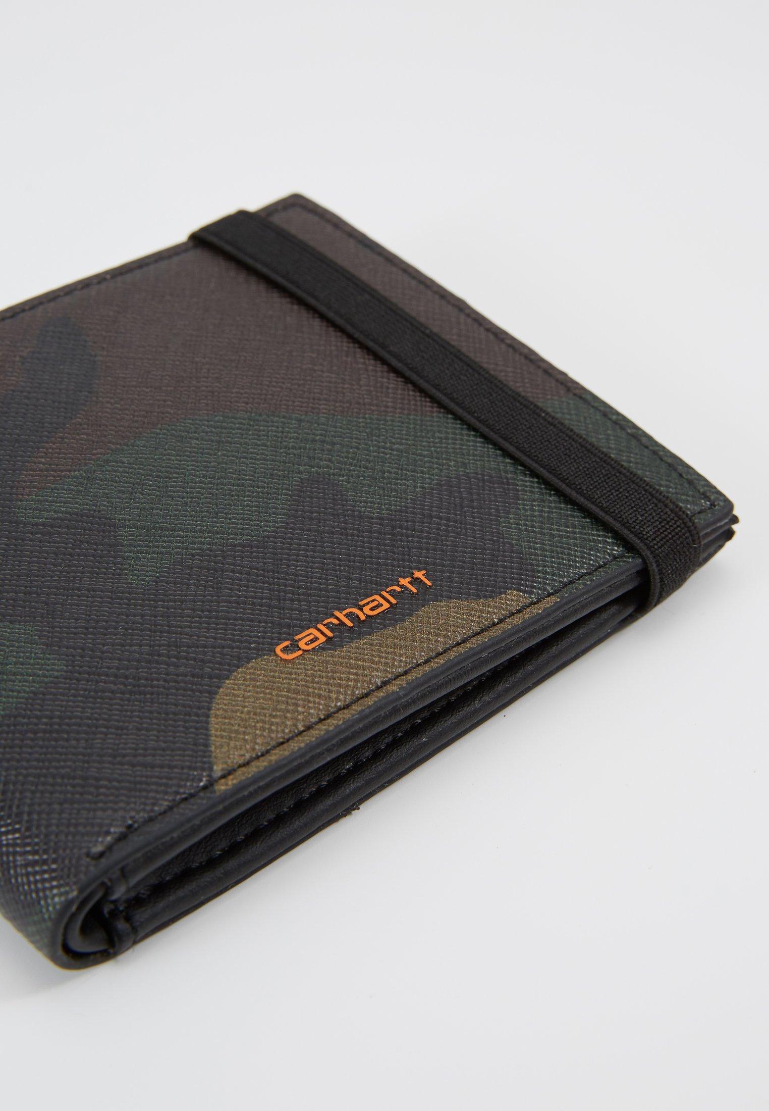 Carhartt Wip Coated Billfold Wallet - Portefeuille Laurel/orange