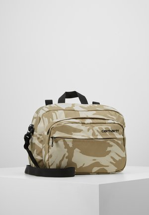 PAYTON SHOULDER BAG - Skuldertasker - brush sandshell/black