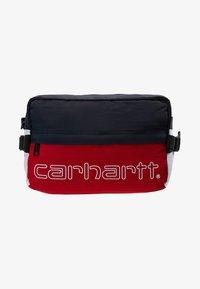 Carhartt WIP - TERRACE HIP BAG - Bum bag - cardinal/dark navy/white/ black - 6