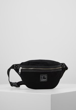 STRATFORD HIP BAG - Sac banane - black/white
