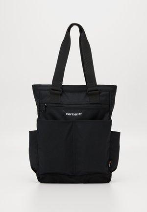 PAYTON KIT BAG - Tote bag - black / white